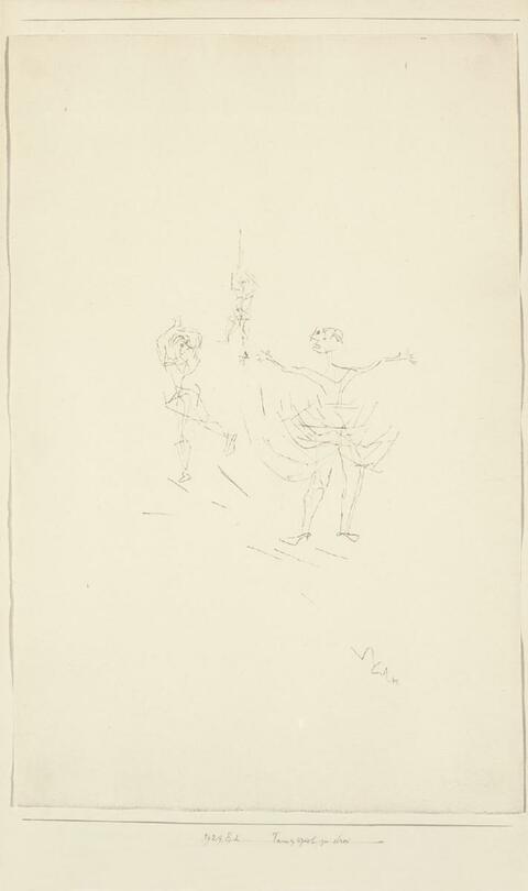 Paul Klee - Tanzspiel zu Drei