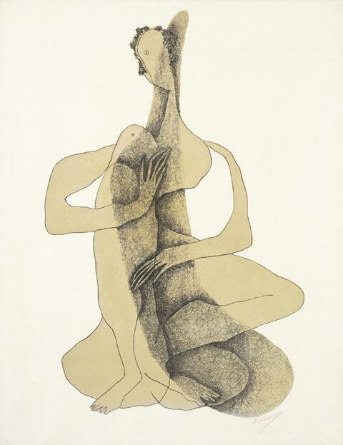 Henri Laurens - Femme Accroupie