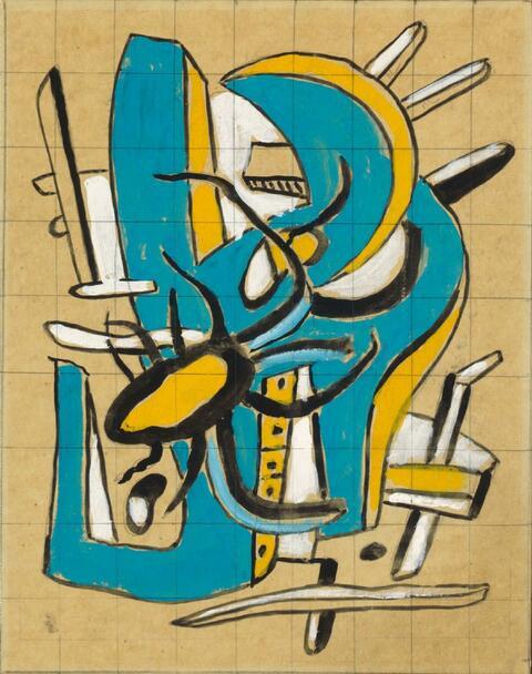 Fernand Léger - L'Araignée jaune