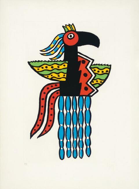 Fernand Léger - L'Oiseau magie