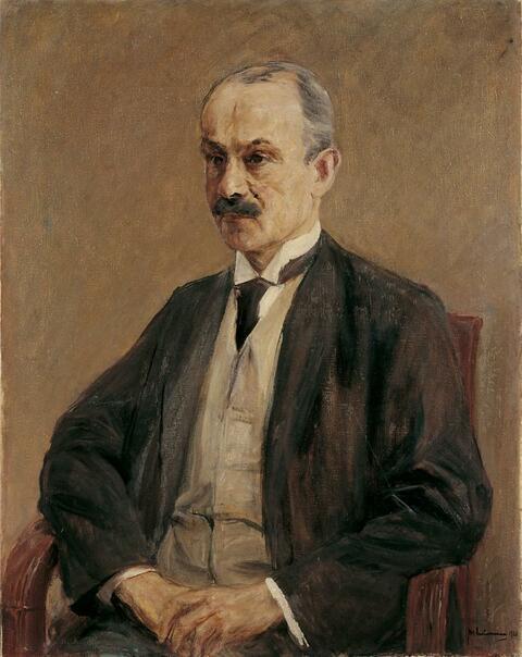 Max Liebermann - Bildnis Franz Otto Oppenheim