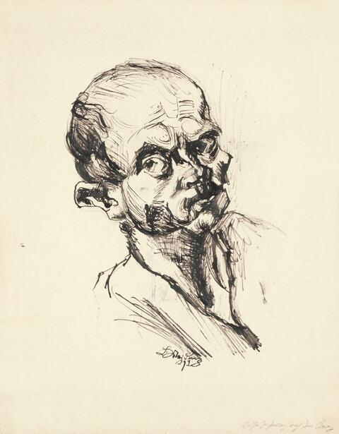 Ludwig Meidner - Selbstbildnis