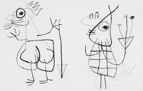 Joan Miró - L'enfance d'ubu