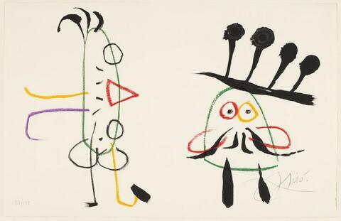 Joan Miró - Blatt 9 der Folge