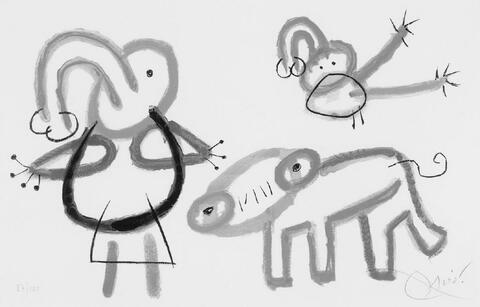 Joan Miró - Blatt 13 der Folge