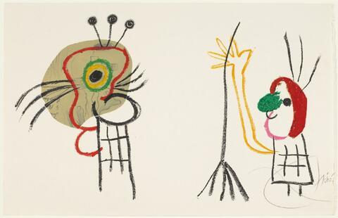 Joan Miró - Blatt 19 der Folge
