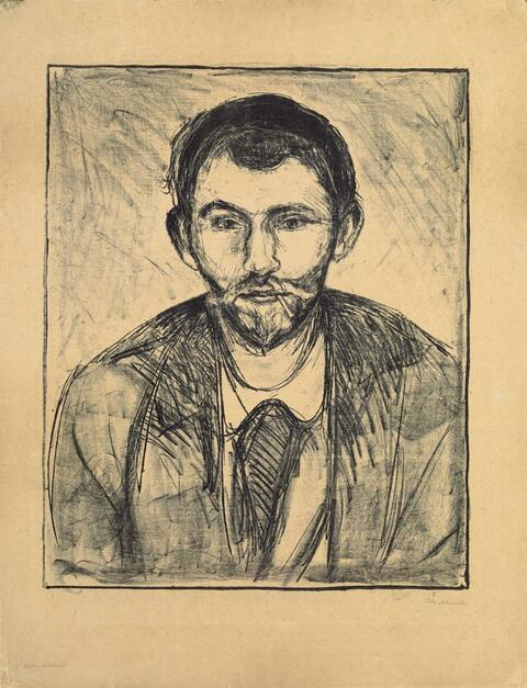 Edvard Munch - Stanislaw Przybyszewski