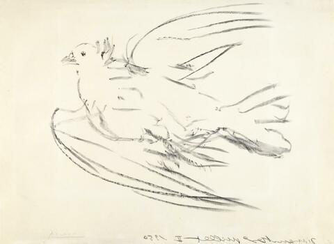 Pablo Picasso - La colombe volant
