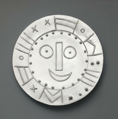 Pablo Picasso - Tête en forme d'horloge