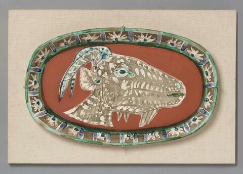 Pablo Picasso - Tête de chèvre de profil