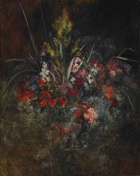 Pierre-Auguste Renoir - Bouquet estival