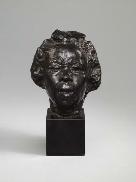 Auguste Rodin - Masque d' Hanako (Typ D)