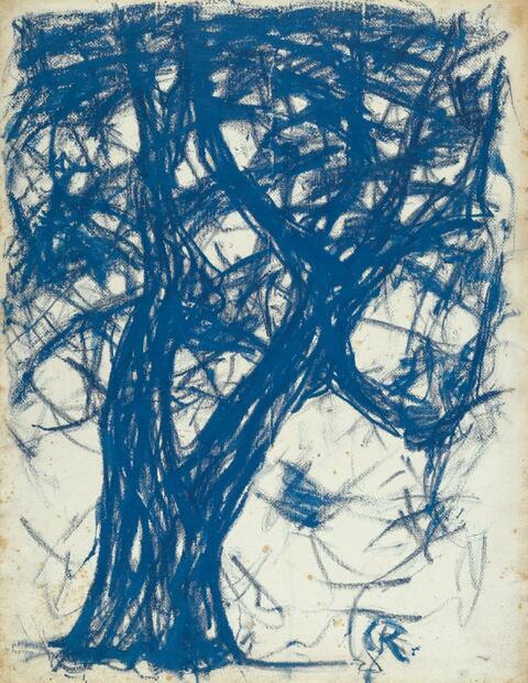 Christian Rohlfs - Baum