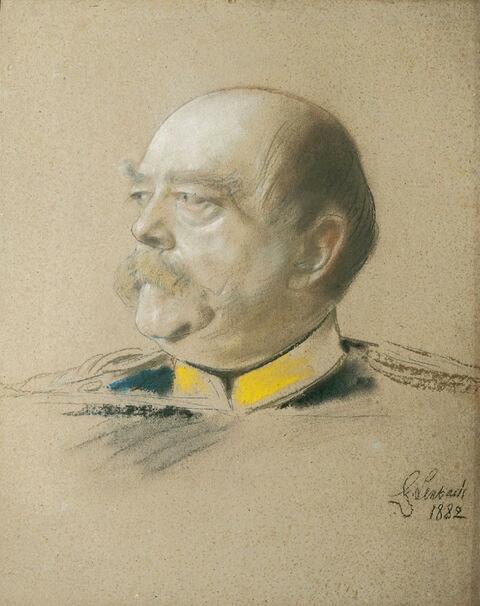 Franz Seraph von Lenbach - BILDNIS DES REICHSKANZLERS OTTO FÜRST VON BISMARCK.