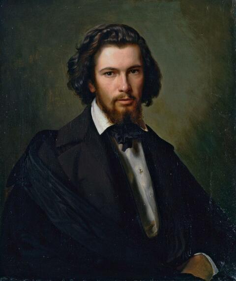 Julius Roeting - BILDNIS DES DR. MED. KARL ANDREAS BERTHELEN ALS STUDENT DER MEDIZIN.