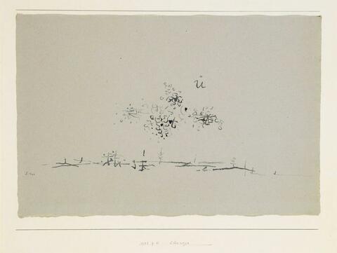 Paul Klee - Überwegs. 1932, 111 (P11)