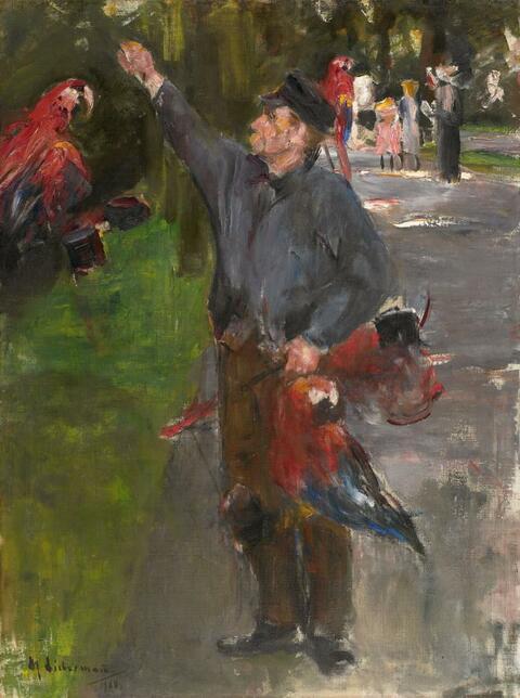 Max Liebermann - Papageienmann