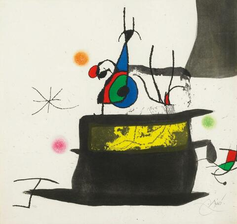 Joan Miró - Le Carosse d'Oiseaux