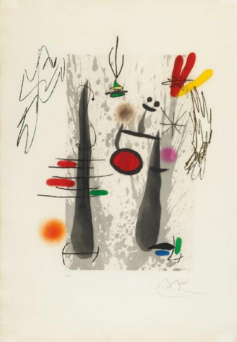 Joan Miró - La Longue et L'évaporée