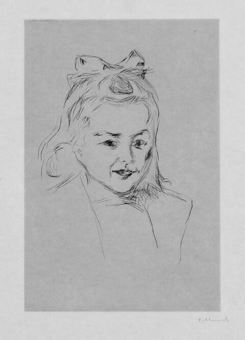 Edvard Munch - Ottilie Schiefler