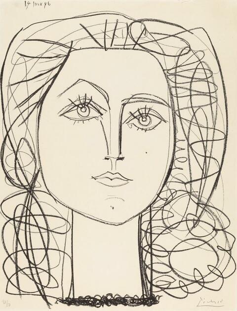 Pablo Picasso - Francoise