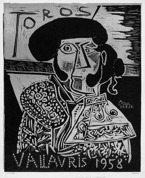 Pablo Picasso - Toros vallauris