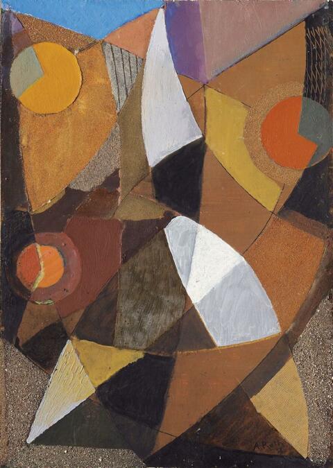 Alfred Reth - Abstrakte Komposition
