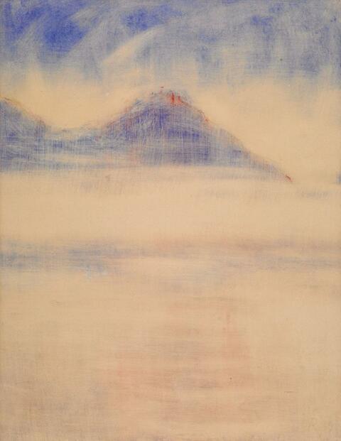 Christian Rohlfs - Nebel am See