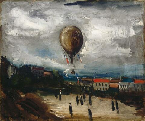 Maurice de Vlaminck - Ballon à Pontoise