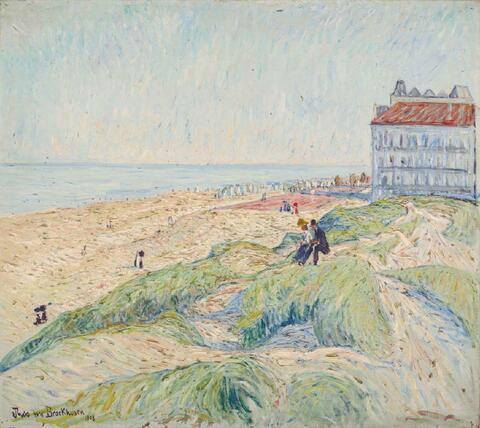 Theo von Brockhusen - Strand in Knokke (Dünenlandschaft)