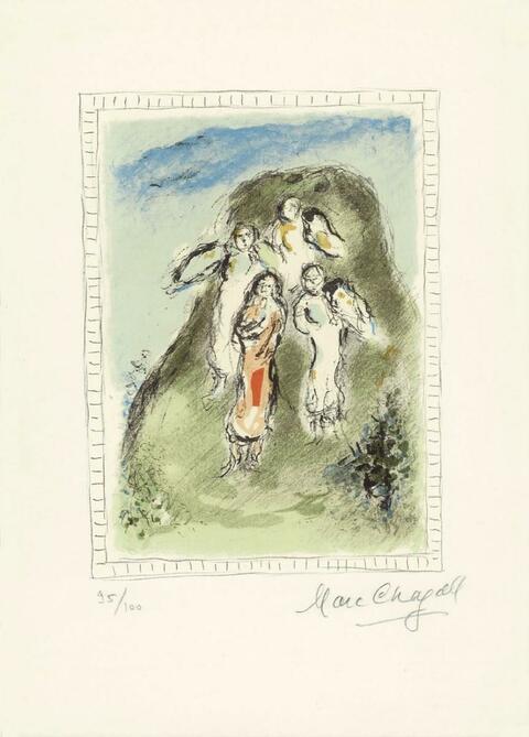 Marc Chagall - Les trois Anges