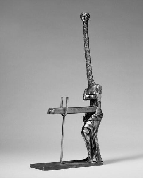 Salvador Dali Y Domenech - Venus à la Giraffe, 2. Exemplar