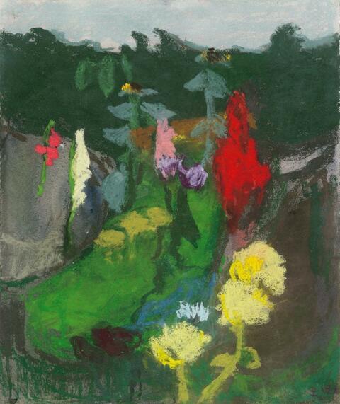 Klaus Fußmann - Ohne Titel (Blumenstilleben)