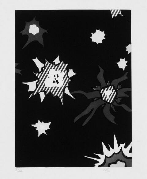 Roy Lichtenstein - Illustration for Hüm Bum!