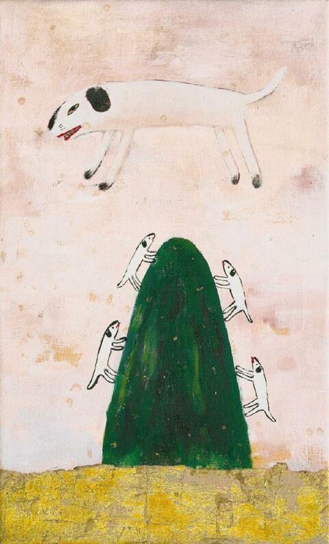 Yoshitomo Nara - Die Hundemutter als Trugbild