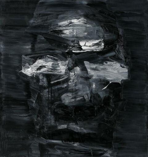 Yan Pei-Ming - Invisible Man