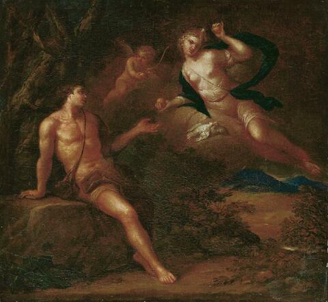 Johann Murrer - VENUS UND ADONIS.