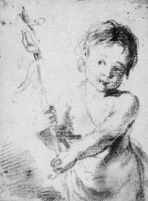 Bologneser Meister - JUGENDLICHER HL. JOHANNES