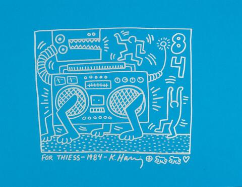 Keith Haring - Radio Dog