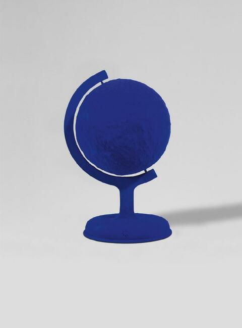 Yves Klein - La terre bleue
