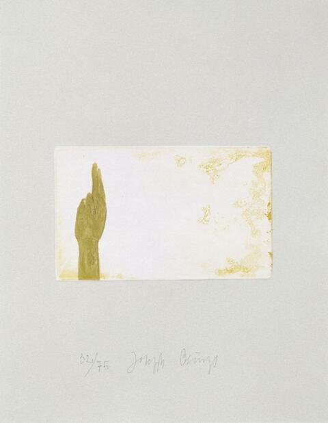 Joseph Beuys - SUITE SCHWURHAND