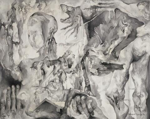 Bernard Schultze - Wuchernde Migof-Anatomie
