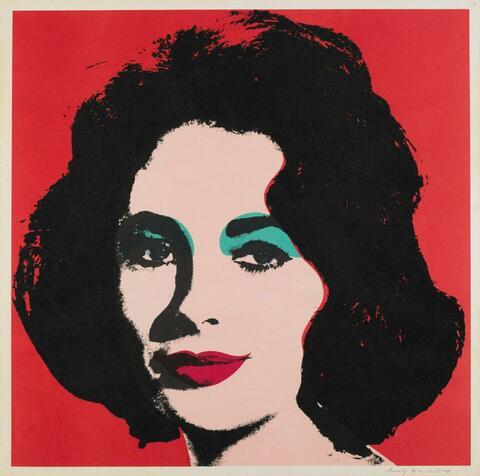 Andy Warhol - Liz