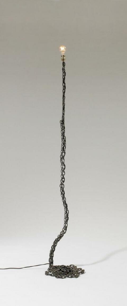 Franz West - Privat-Lampe des Künstlers II