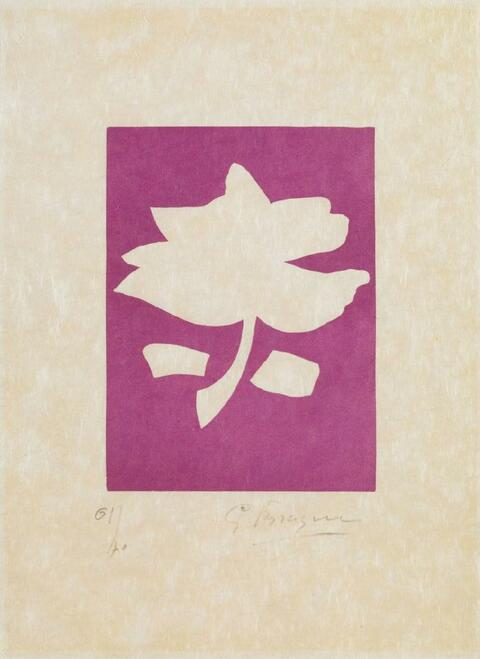 Georges Braque - Aus: Le Tir à l'arc