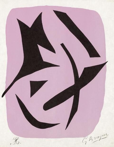 Georges Braque - Deux Oiseaux