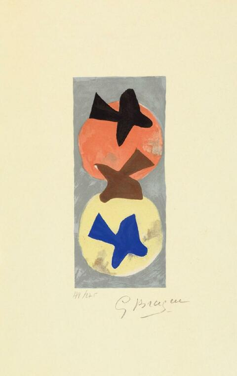 Nach Georges Braque - Soleil et Lune I. Soleil et Lune II