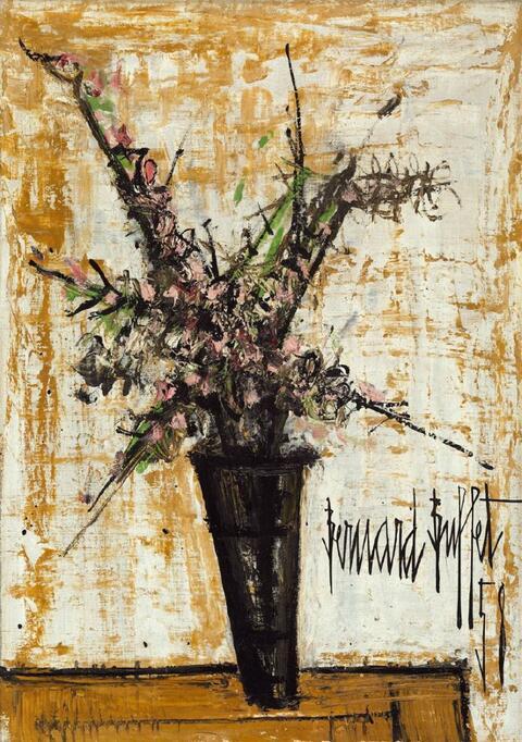 Bernard Buffet - Fleurs de Pommiers