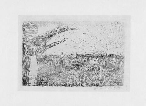 James Ensor - La Tentation du Christ