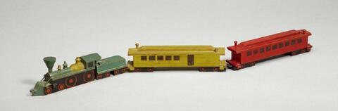 Lyonel Feininger - Lokomotive (1 Lok, 3 Waggons)
